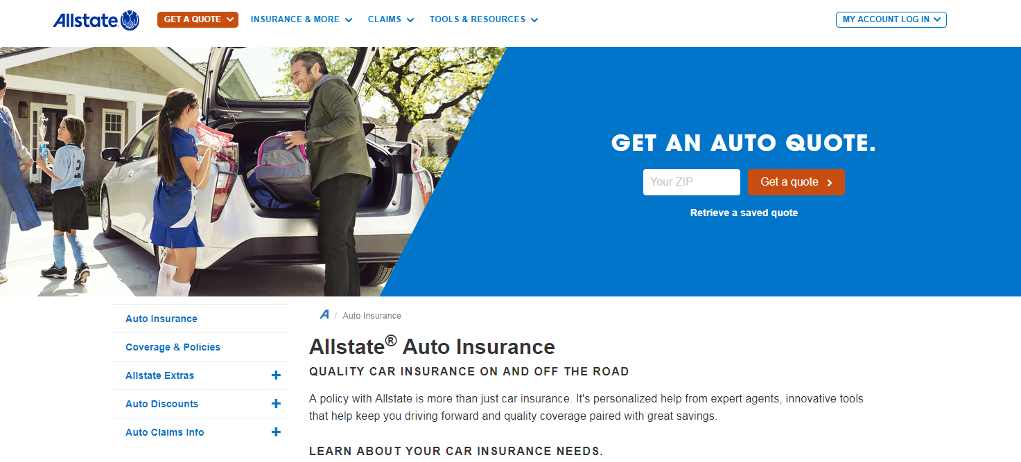 Allstate Quote Online Allstate Quote Online Captivating Best Auto Insurance Websites For