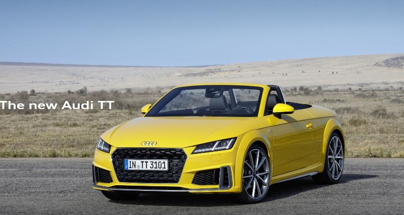 Audi TT dotbrand microsite