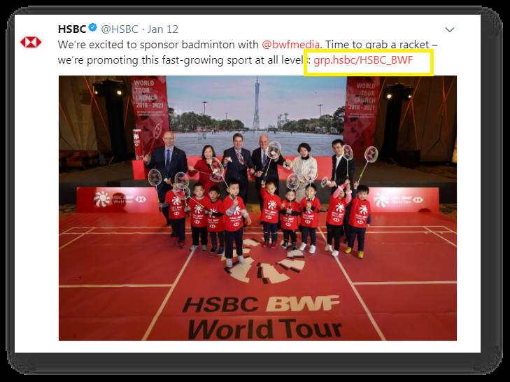 HSBC social media & dotbrands | Brand TLD strategy |  brands