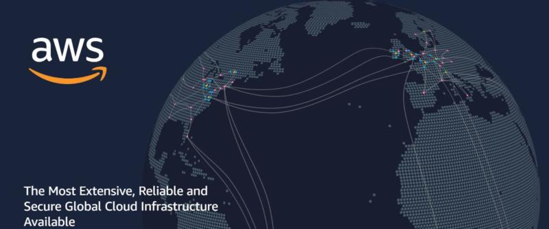 AWS infrastructure dotbrand website