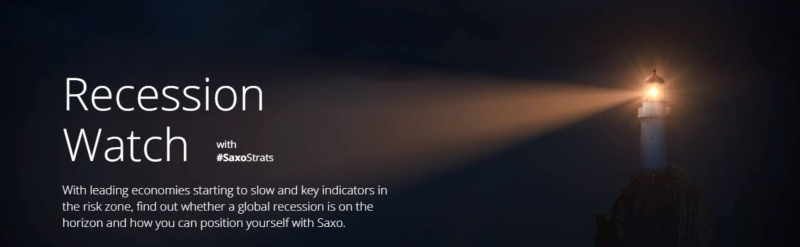 Saxo Bank recession watch dotbrand website