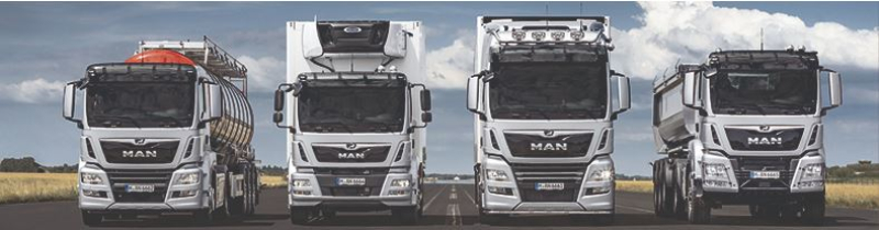 MAN Sales truck portal dotbrand website
