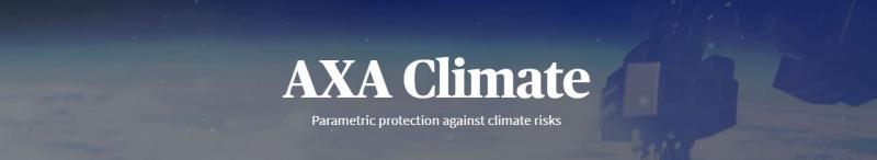 AXA climate parametric insurance dotbrands website