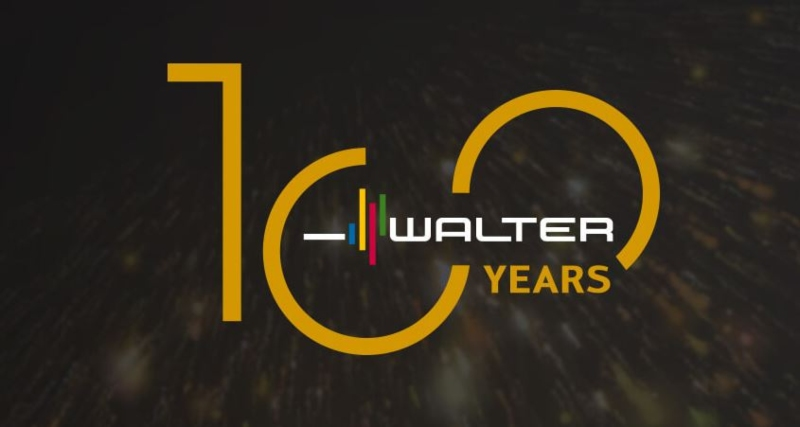 Walter AG metalworks 100 years anniversary dotbrand website