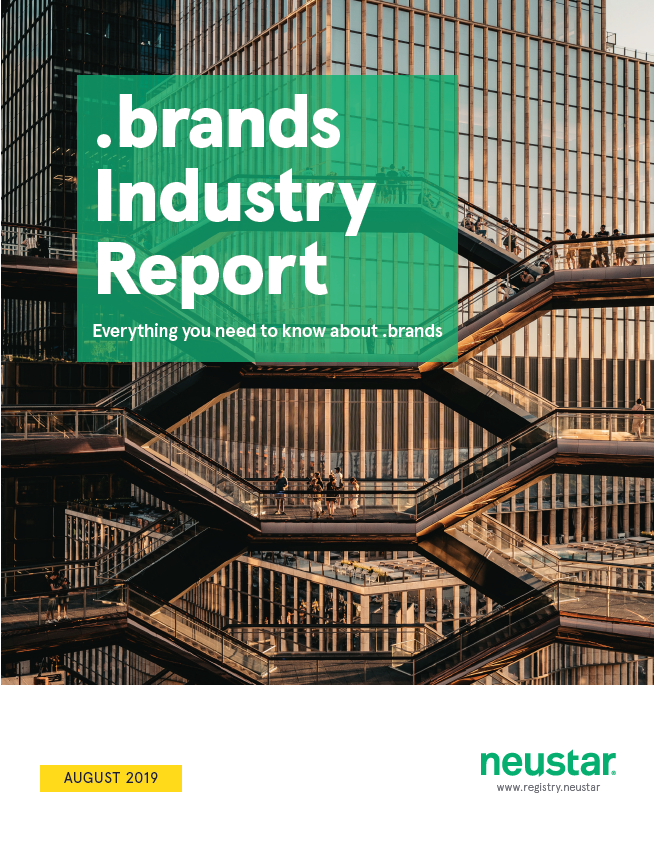 Neustar dotbrands report cover thumbnail