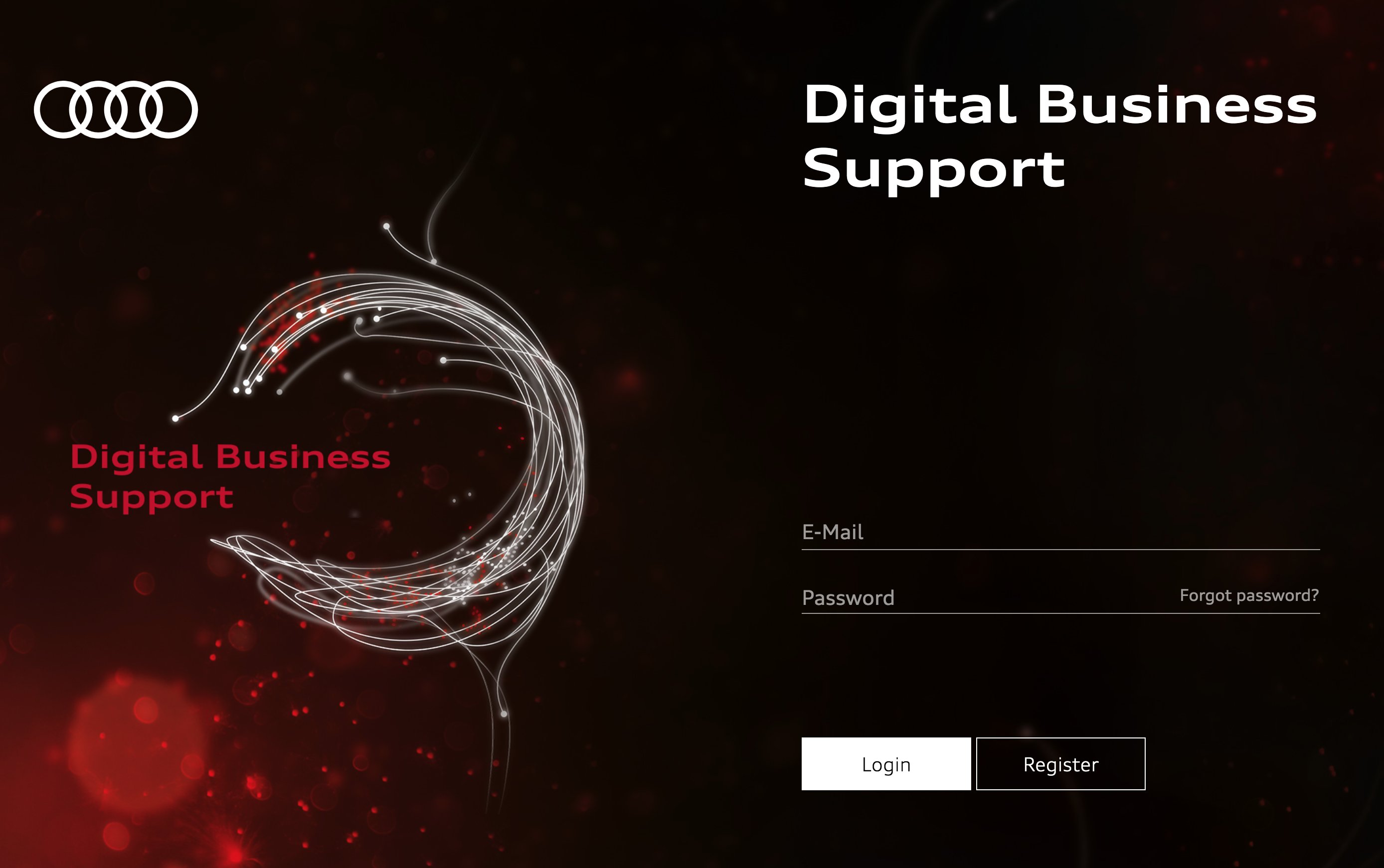 Audi's new portal to support digital business support