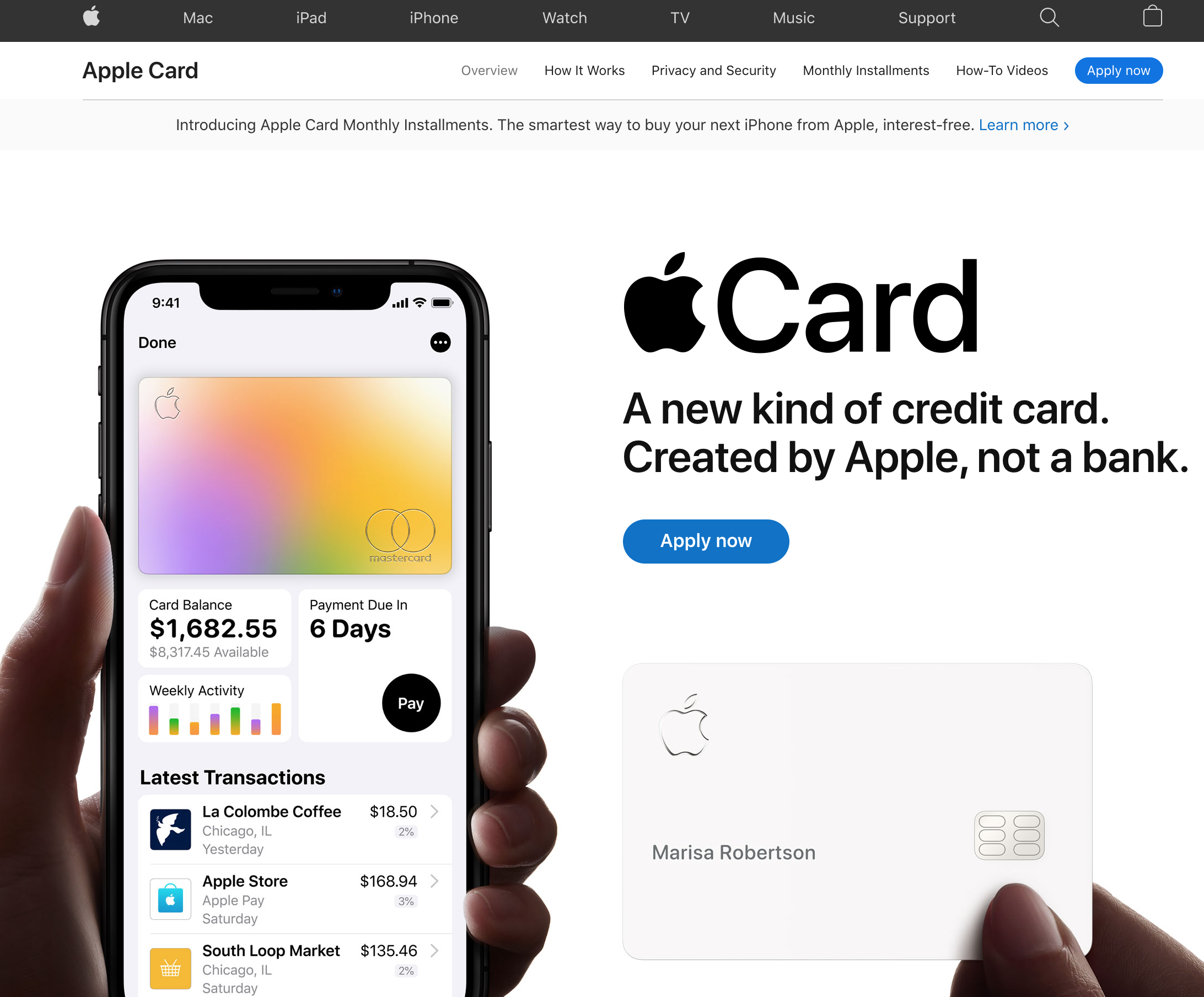 Apple's first foray into payment services