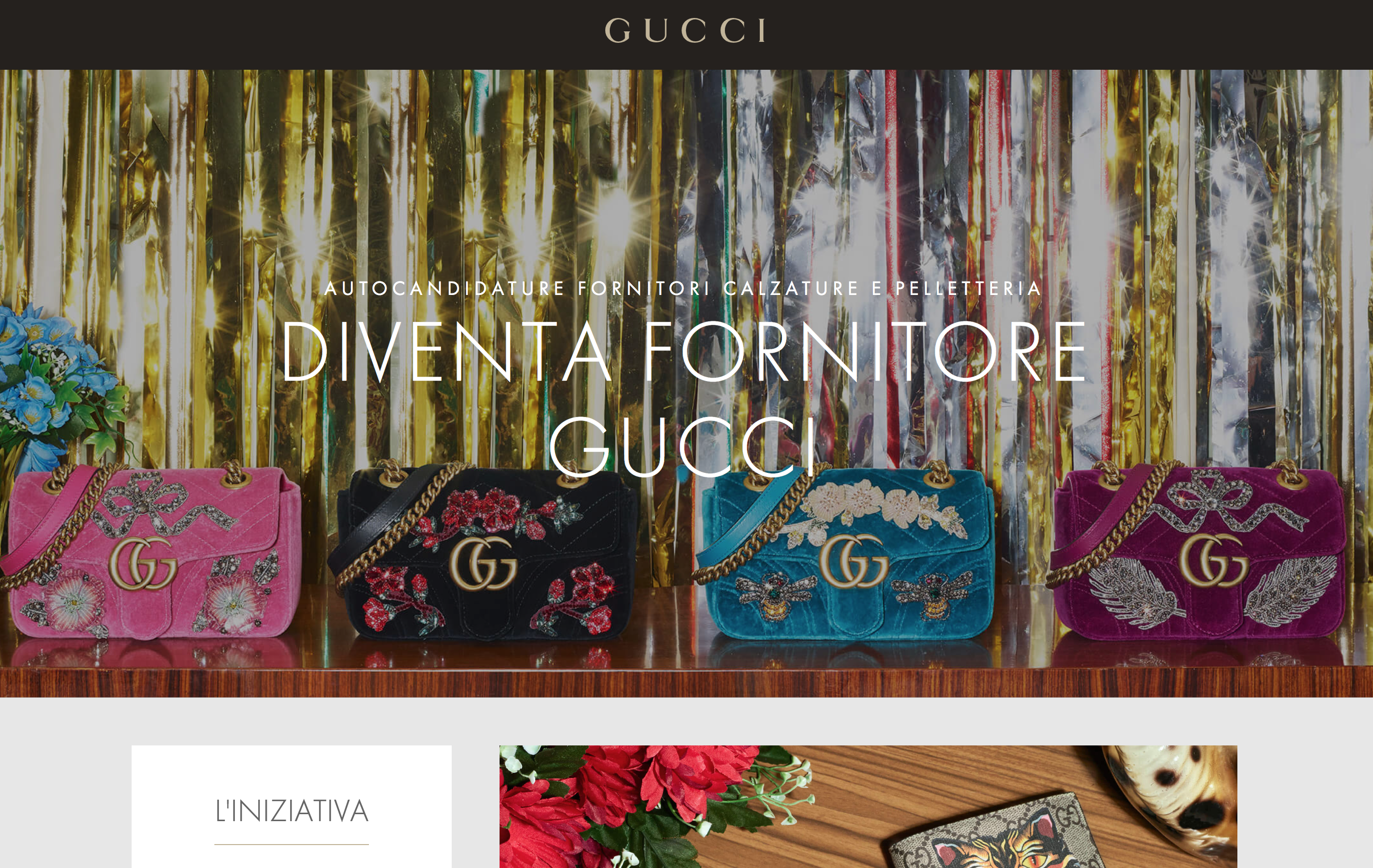 The Italian luxury good brand goes big launching their new range