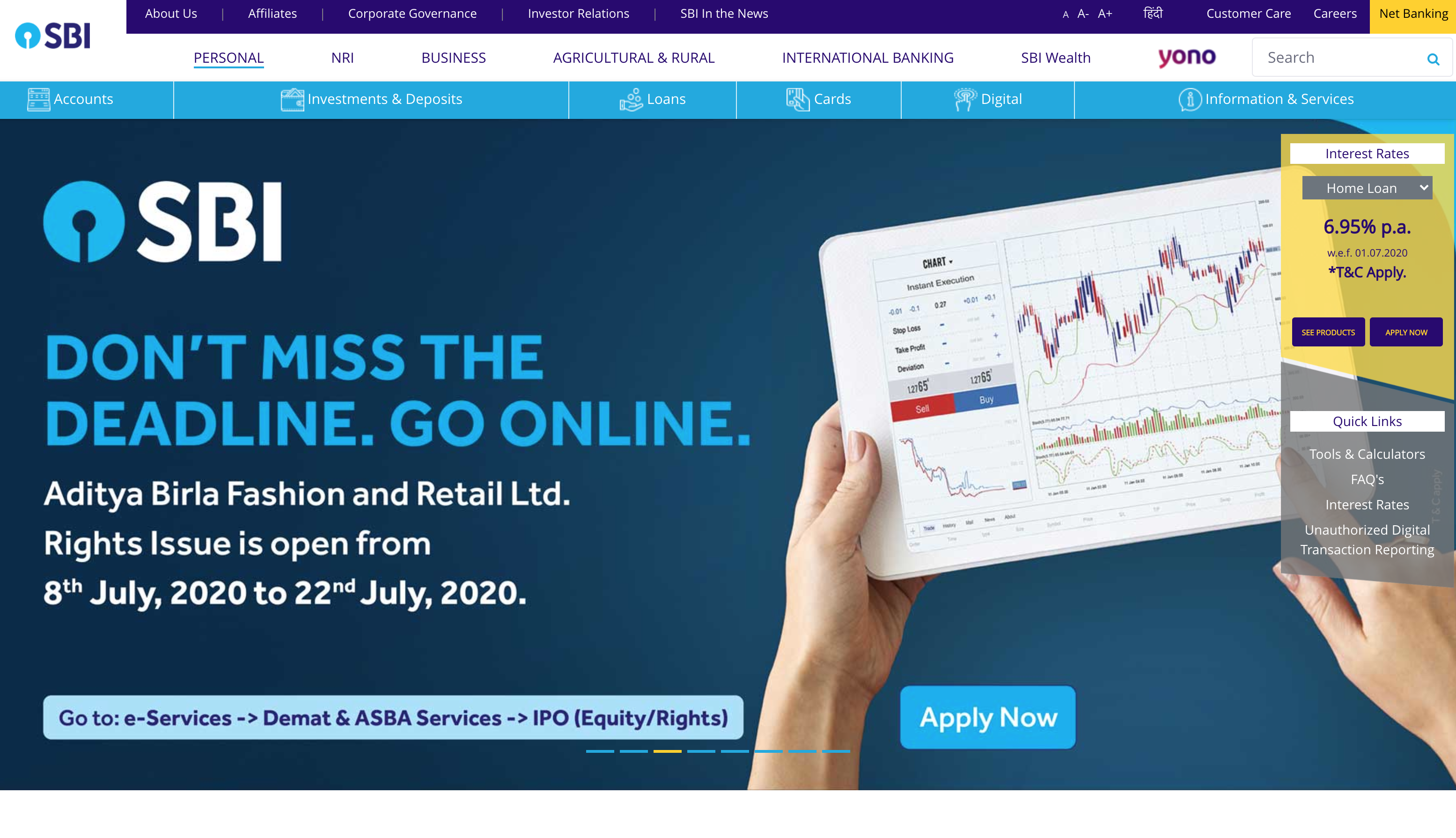 India's state bank drops the legacy domain and goes all in on the .brand